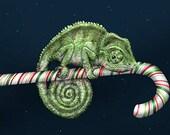 Christmas Chameleon Card