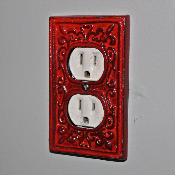 Unavailable listing on etsy - Decorative wall plates electrical ...