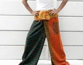 Fishermen Long Pants, 100% Cotton Stone Wash.