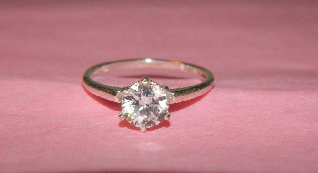 simple promise ring size6 by jewelrybydecember67 on etsy