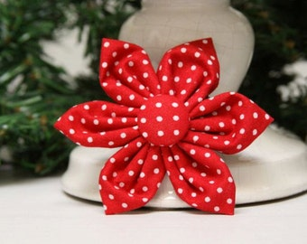 Swiss Dots Blossom for Dog Collar