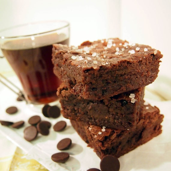 Items similar to Salted Caramel Chocolate Brownies by Dorian O'Connell ...