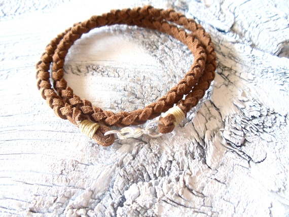 double wrap bracelet // mens jewelry