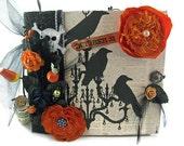 Halloween Scrapbook Album Theresa Collins Haunted Hallows