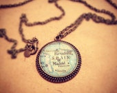 Spain Map Necklace Barcelona Madrid