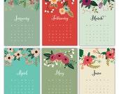Mini kalender 2013 - bloemen