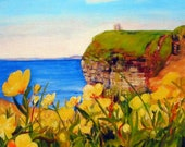 Cliffs of Moher- Ireland Print of Original Oil Painting