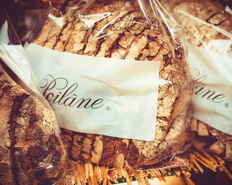 Poilâne Bread-Fine Art Photograph,Paris,France,multiple sizes available, Boulangerie,Parisian,Bread, Bakery,Food, Foodie