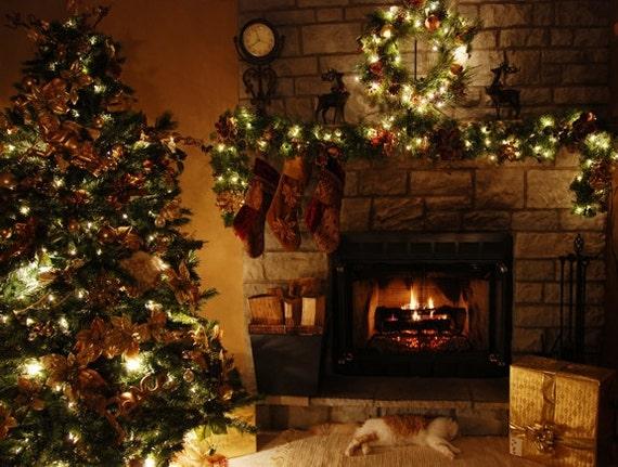 Christmas Photography Background Photo Backdrop
