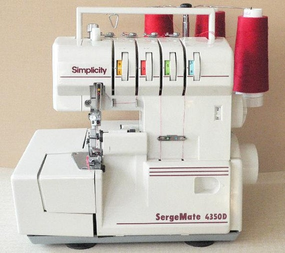 HOLD FOR Lisa - Sergemate - Model 4350D - Used - Serger - Sergermate - Very Good Condition