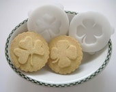 SHAMROCK COOKIE STAMP recipe and instructions - make your own decorative cookies