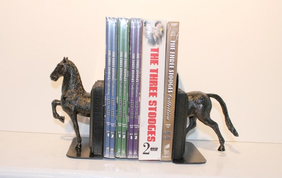 Horse Bookends / DVD Holders