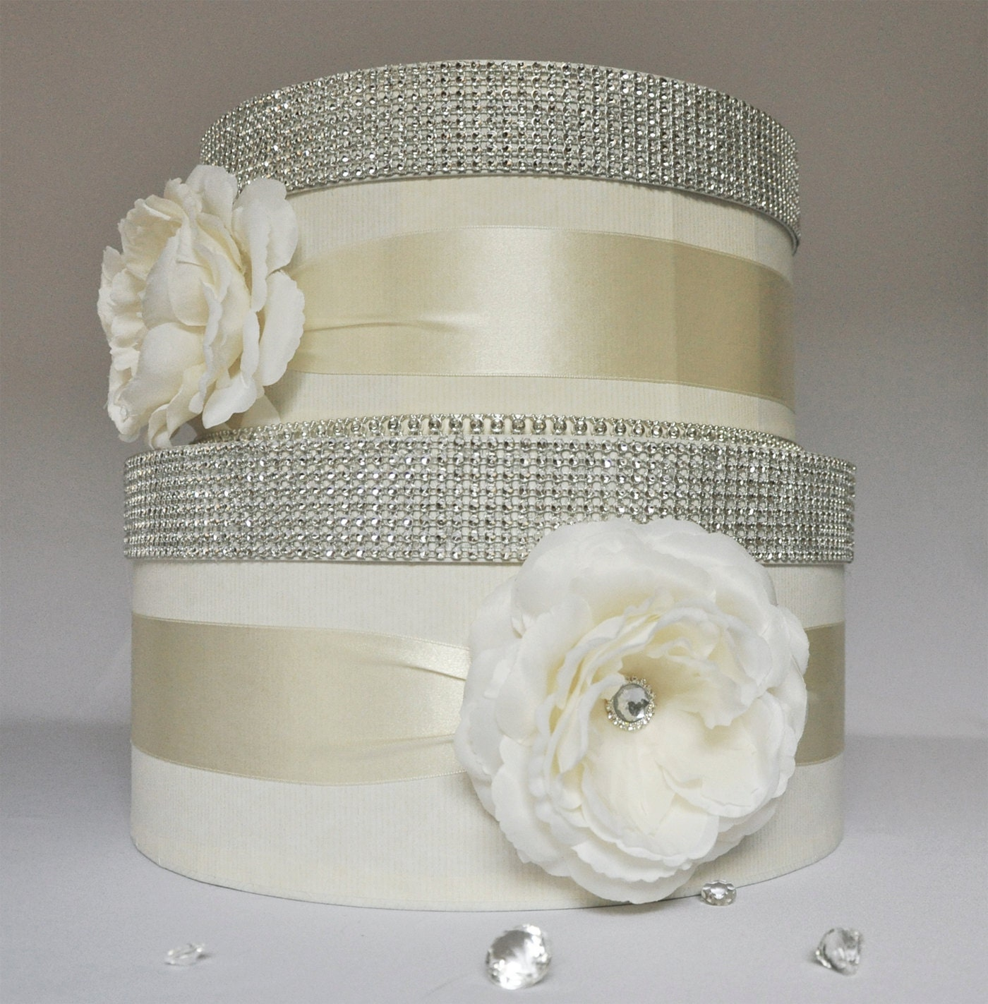Wedding Money Box: Card Box / Wedding Box / Wedding Money Box 2 Tier