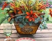Fall Silk Floral Centerpiece