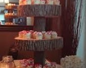 Christmas 4 Tiered Cupcake Stand Custom Shipping for Nicole