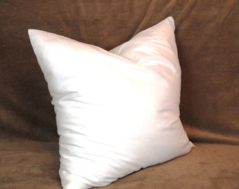 15x15 Synthetic Faux Down Pillow Form Insert for Craft / Throw Pillow Shams