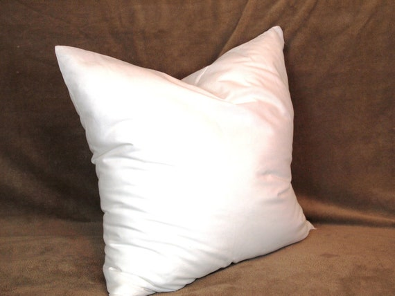 Down Throw Pillow Forms : 15x15 Synthetic Faux Down Pillow Form Insert for Craft / Throw Pillow Shams from peteuga on Etsy ...