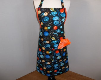Out of This World Artist Apron.