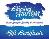 100 Dollar Gift Certificate for Chasing at Starlight