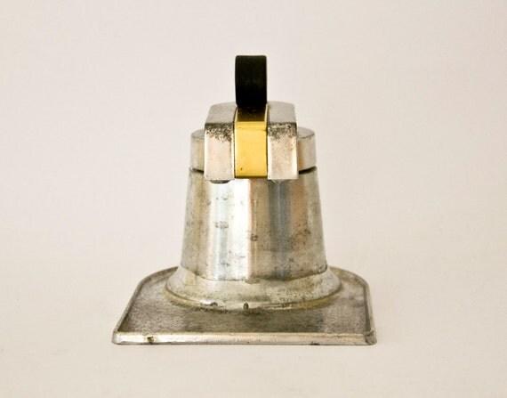 Italian Coffee Maker Aluminum : Vintage Italian coffee maker OMG aluminum by ilivevintage on Etsy