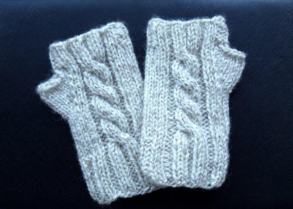 Knitting Pattern For Childs Fingerless Gloves : Knitting Pattern Childs Fingerless Gloves by TheWoollyKnitter
