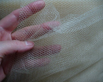 Nylon Netting Beige 72 inches wide