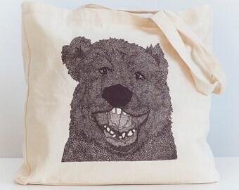 Organic cotton tote bag BEAR