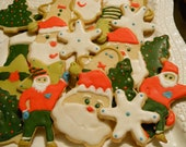 CYBER MONDAY SALE -Christmas Sugar Cookies