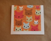 Kitty Kats Greeting Card
