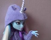 Monster High Doll Costume - Violet Unicorn Coat