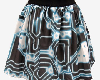 TRON Inspired Full Skirt