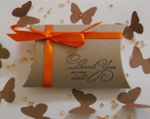 Wedding Favors Pillow Boxes x 10 - ideal for wedding favors, showers, parties