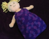 DYO Reversible Nap Sack for Baby Stella, Waldorf and 13, 14, 15, 16 In Dolls, Doll Clothes