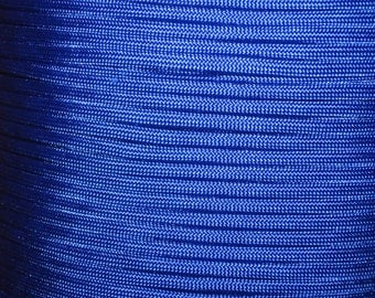 200 ft hank Electric Blue 550 Paracord