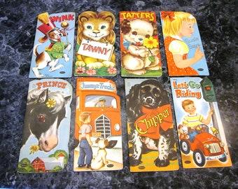 8 Whitman Publishing Books 1940's & 1950's