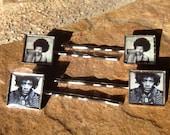 Jimi Hendrix Bobby Pin Set