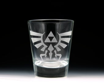 Legend of Zelda Hylian Crest Shot Glass