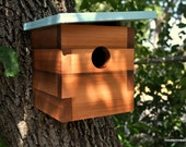 Modern Bird House - Swallow No. 5 FREE SHIPPING