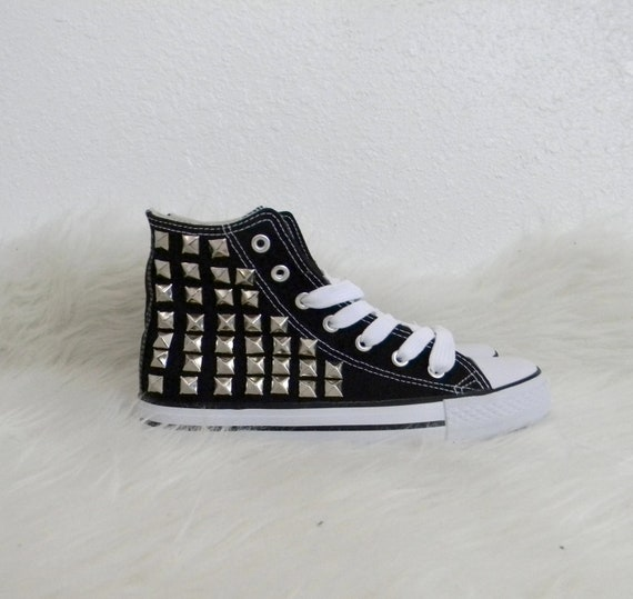studded converse knock offs tennis shoe sneakers by