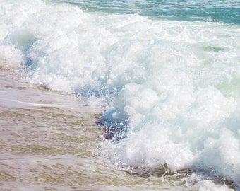 Beach wall art Digital Download Ocean Waves photograph Beach decor Seascape photo Water Photography Coastal art