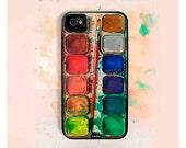 iPhone 6 Case, iPhone 5s Case, iPhone 5c Case, 6 Plus Case, iphone 6s plus case Watercolor Set IPHONE CASE