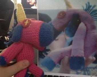 Crochet Unicorn (Agnes' from Despicable Me)