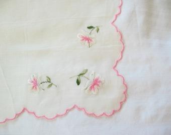 Vintage handkerchief hanky hankie