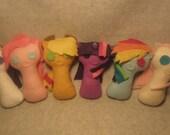 My Little Pony Keyhole Plushies