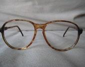 Givenchy Tortoise Shell eyeglasses/sunglasses frames vintage 1970's France