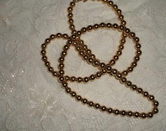 VINTAGE monet bead necklace