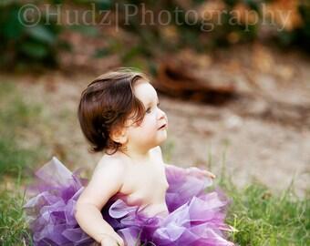 Baby Plum&Lavender Tutu Skirt