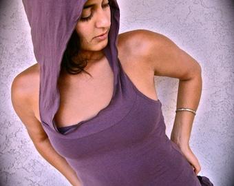 Hoodie Pixie ~ Tank top ~ Yoga ~ Hood