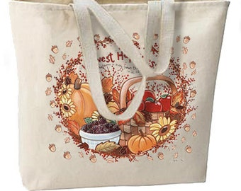 Fall Autumn Happiness New Oversize Tote Bag, All Purpose