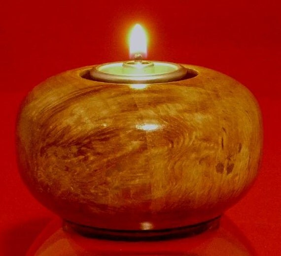 Oil candle doughnut by bktabydave on etsy for Oil filled candlesticks
